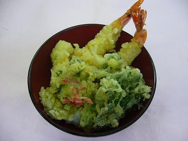 春野菜の天丼.JPG