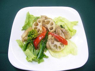 信玄鶏と香味野菜のグリル4.JPG