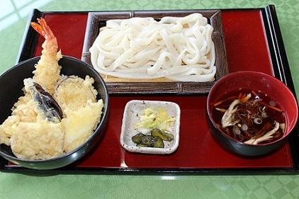 おざらと天丼セット2.JPG